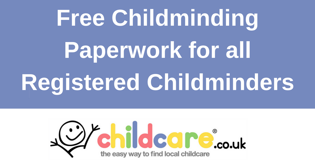 Free Childminder Paperwork - Childcare.co.uk